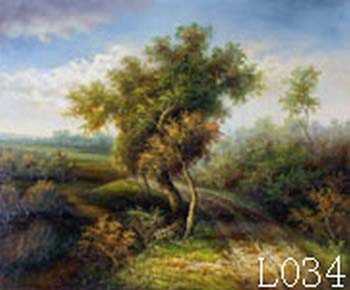 Landscape, Handmade oil painting on Canvas:L0034