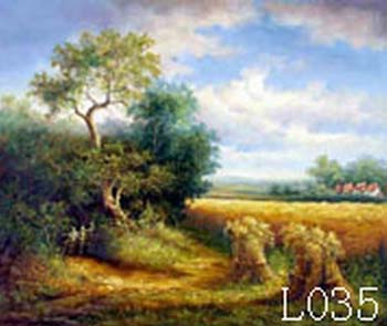 Landscape, Handmade oil painting on Canvas:L0035