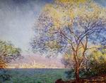 Claude Oscar Monet paintings artwork Antibes In The Morning