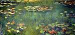 Claude Oscar Monet paintings artwork Pool with Waterlilies