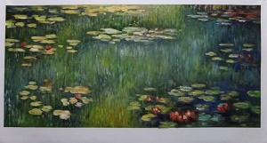 Reproduction Monet paintings artwork Pool with Waterlilies