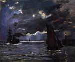 Reproduction of Seascape Night Effect 1866