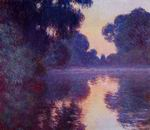 Claude Oscar Monet art Arm Of The Seine Near Giverny At Sunrise