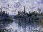 Claude Oscar Monet paintings art Arm Of The Seine Near Vetheuil