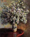Reproduction of Claude Oscar Monet paintings artwork Asters