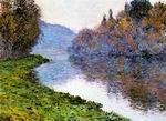 Claude Oscar Monet Banks Of The Seine At Jenfosse Clear Weather