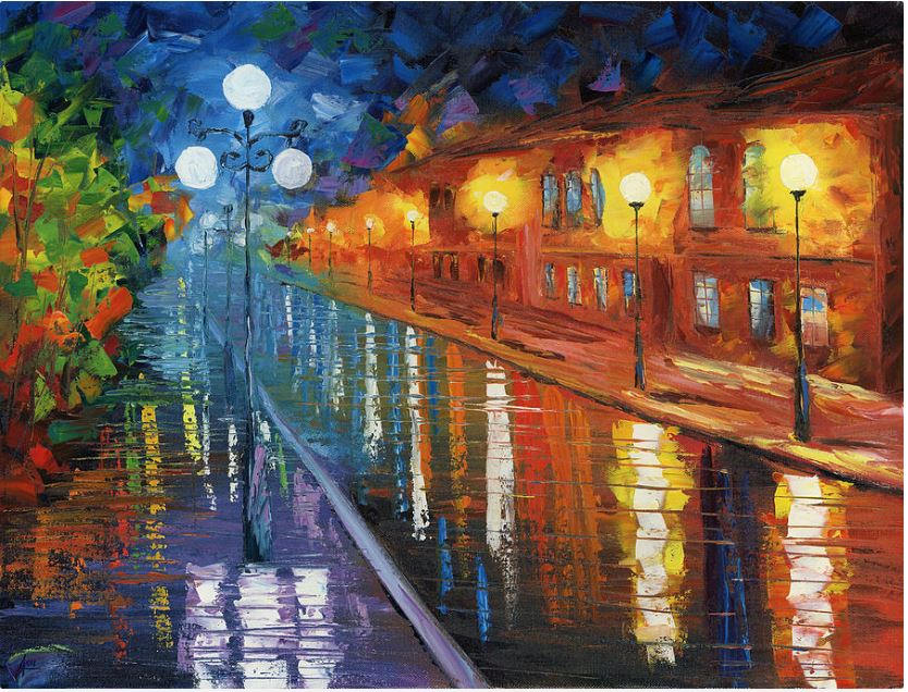 New Orleans oil paintings for sale, Midnight City