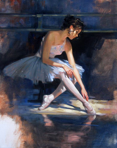 Richard johnson Blue Reflections Reproductions of paintings