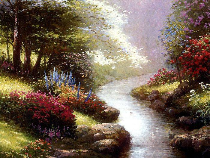 Thomas Kinkade paintings, no.4 Reproductions of paintings
