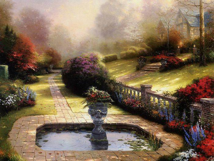 Thomas Kinkade paintings, NO.10 Reproductions of paintings