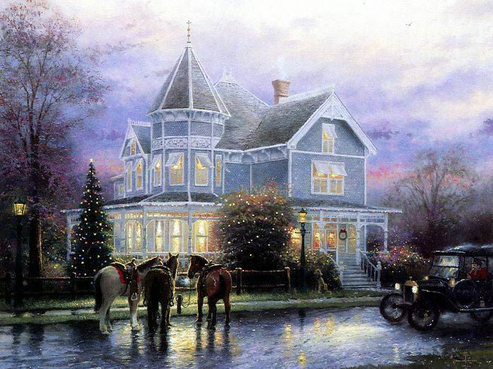 Thomas Kinkade paintings, NO.25 Reproductions of paintings