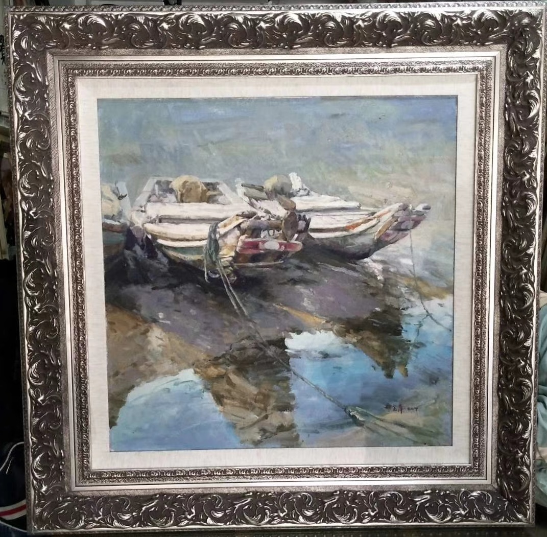 "30x30""Framed painting Reproductions oil paintings"