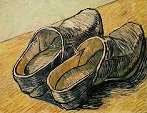 Reproduction of Van Gogh paintings A Pair Of Leather Clogs 1888