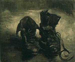 Reproduction of Van Gogh paintings A Pair Of Shoes 1 1886