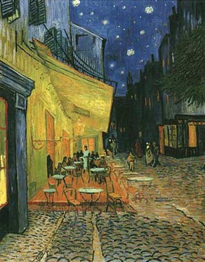 Van Gogh paintings artwork Cafe Terrace On The Pla