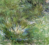 Reproduction of Van Gogh paintings artwork Clumps Of Grass