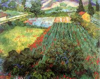 Reproduction of Van Gogh paintings artwork Field With Poppies II