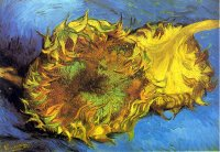 Van Gogh paintings artwork Still Life with Two Sunflowers I